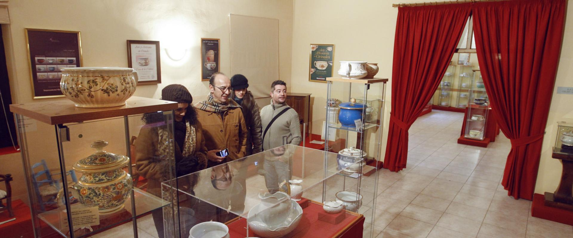 Museum of the chamber pot in Ciudad Rodrigo