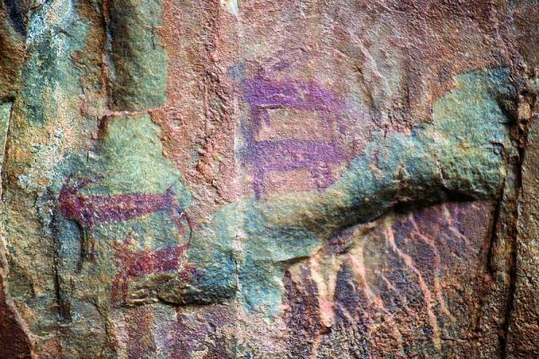 Rock Paintings in Las Batuecas