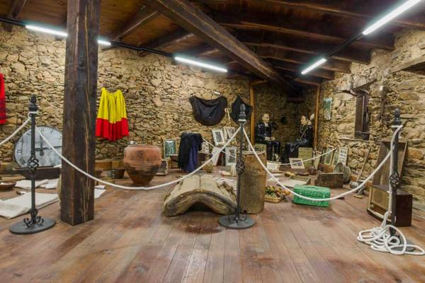 Traditional culture and hunt ethnographic museum in Monsagro