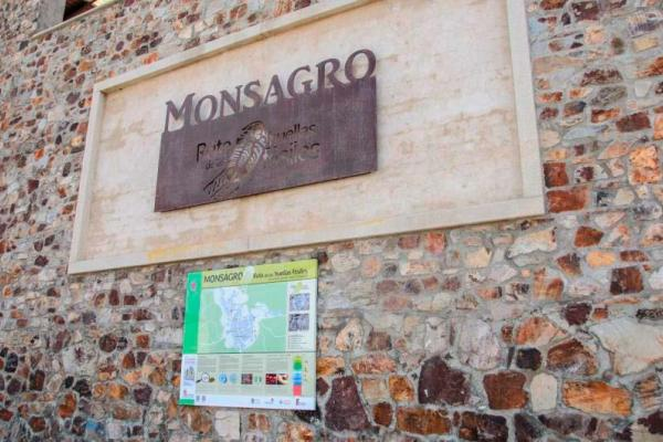 The fossil traces route of Monsagro